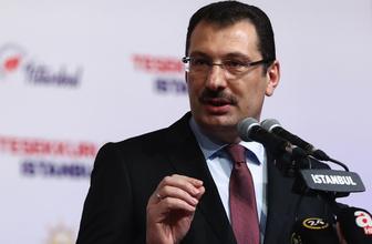 AK Parti İstanbul seçim sonuçlarının iptali için YSK'ya başvurdu