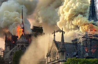 Louis Vuitton'dan Notre Dame'a bağış