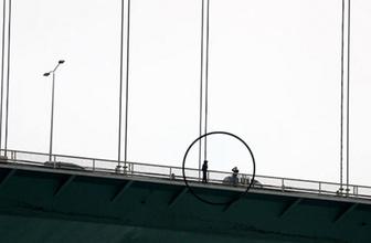 Fatih Sultan Mehmet Köprüsü'nde intihar girişimi!