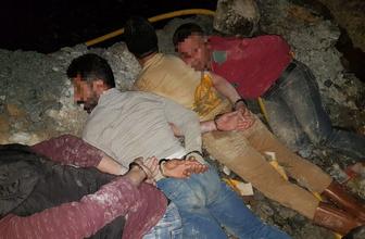 Mersin Bozyazı'da kaçak kazı yapan şahıslar bakın nasıl yakalandı