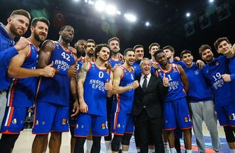 Anadolu Efes, Barça'yı parçaladı