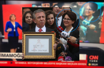CNN Türk'ün Ekrem İmamoğlu fotomontaj skandalı! Yavaş'ın eşini unuttular