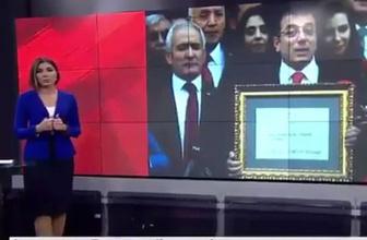 CNN Türk'den skandal montaj! İmamoğlu'nun mazbatasını bakın nasıl verdi