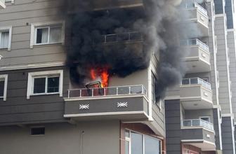 HATAY'da apartman dairesinde çıkan yangın 7 kişiyi hastanelik etti