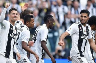 Juventus rekor kırarak şampiyon oldu