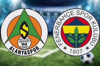 Alanyaspor Fenerbahçe maçı CANLI YAYIN