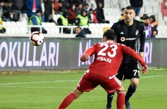Sivasspor Beşiktaş maçı golleri ve geniş özeti