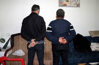 Kayseri'de define için kazı yapan şahıslara suçüstü