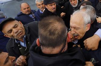 Kılıçdaroğlu'nu yumruklayan Sarıgün karakolda tutuluyor