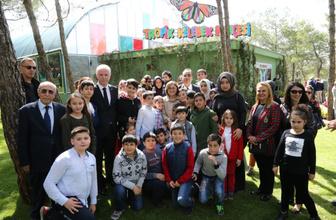 Gaziantep'te Tropik Kelebek Bahçesi açıldı