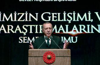 Cumhurbaşkanı Erdoğan: Fransa Türkiye'ye ders veremez