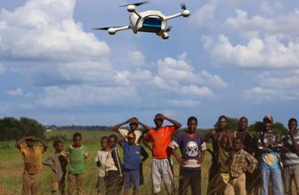 Afrika'da yeni dönem! İlaç dağıtımları drone sayesinde gerçekleşecek