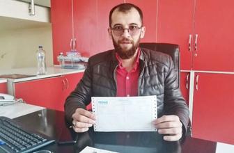 3 lira borç için elektriği kesilince çelenk gönderdi