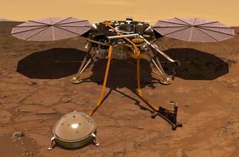 Mars'a inan uzay aracı InSight inanılmaz sesler kaydetti!