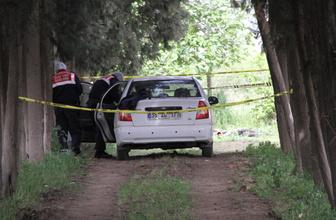 Kayınpeder damadını otomobilde ölü buldu