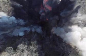Şırnak'ta teröristlerin 36 sığınak ve mağarası imha edildi