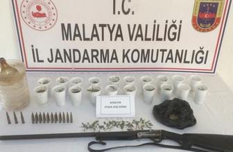 Malatya'da Jandarmayı şaşkına çeviren olay