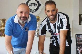 Altay'ın yıldızı Marco Paixao 1. Lig'de tarihe geçti