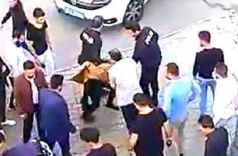 Gaziantep'te cocuğa taciz şüphelisini dövüp polise teslim ettiler