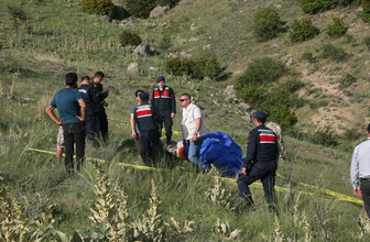 Denizli'de yamaç paraşütü kazası 1 ölü