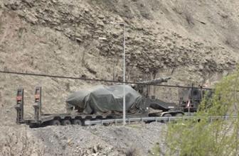 Irak sınırına fırtına obüsü ve tank sevkiyatı