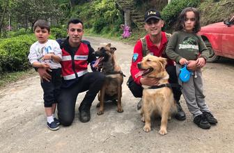 Rize'de kaybolan iki çocuk bulundu