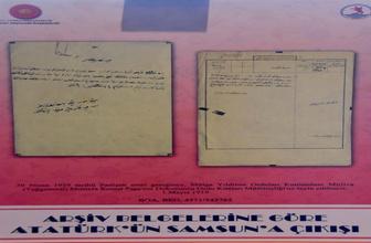 Kurtuluş Savaşı'na dair çok özel belgeler görücüye çıktı