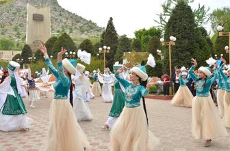 TİKA'nın katkılarıyla Türk dünyası Oş'da buluştu