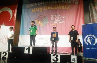 Tatvanlı öğrenciden Türkiye derecesi