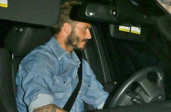 David Beckham ehliyetini kaptırdı