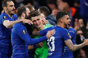 UEFA Avrupa Ligi'nde finalde Arsenal'in rakibi Chelsea oldu