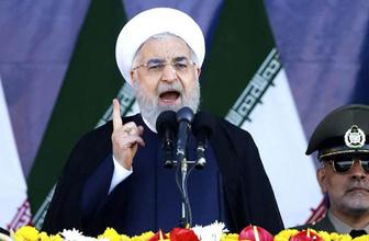 Hasan Ruhani meydan okudu! Asla teslim olmayız