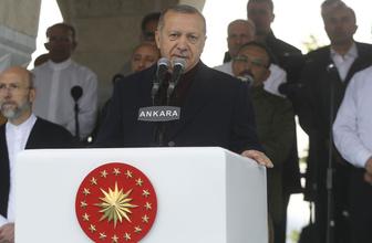 Cumhurbaşkanı Erdoğan Kuzey Yıldızı Camii açılışında konuştu