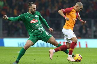 Çaykur Rizespor - Galatasaray maçı özet ve golleri