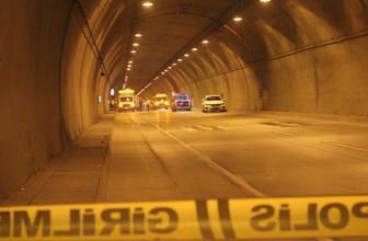Dolmabahçe Tüneli'nde feci motosiklet kazası 1 ölü