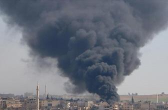 İdlib'de iftardan önce pazara saldırı 5 ölü 20 yaralı