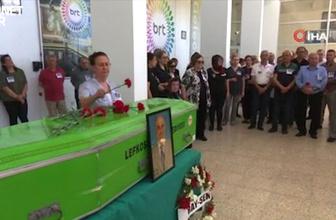 Vefat eden TGRT eski müdürlerinden Berkem için BRT'de tören düzenlendi