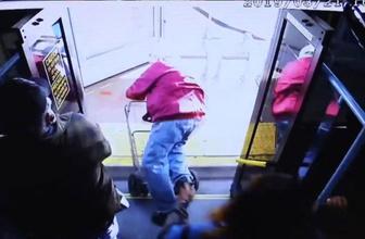 Yaşlı adamı itip otobüsten düşürdü! Cinayetle yargılanıyor