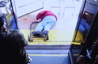 Düşürdüğü yaşlı adam ölen kadın cinayetle yargılanıyor