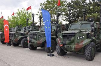 Zırhlı mobil güvenlik aracı ATEŞ TSK'ya teslim edildi