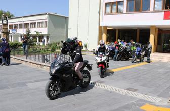 Motosiklet Kulubü üyeleri Samsun'a uğurlandı