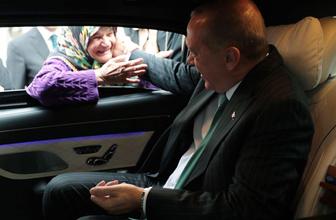 Erdoğan ile yaşlı teyze ne konuştu! Gülümseten diyalog ortaya çıktı