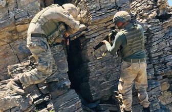 Diyarbakır'da PKK'ya nefes aldırılmıyor Teröristlere ait kış sığınaklarından neler çıktı