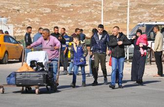 Suriyeliler bayram dolayısıyla ülkelerine gitmeye başladı