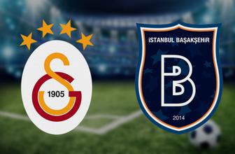 Galatasaray Başakşehir maçı saat kaçta hangi kanalda? (11'ler belli oldu )