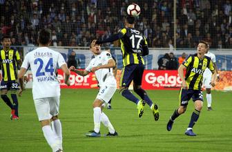 BB Erzurumspor Fenerbahçe maçı golleri ve geniş özeti