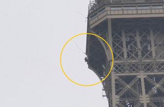 Eyfel kulesini tahliye ettiren çılgınlık