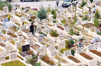İstanbul'da Suriyelilere özel mezarlık alanı oluşturuldu!
