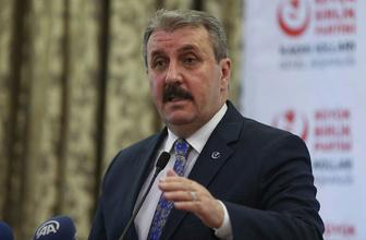 BBP Genel Başkanı Mustafa Destici'de Türkiye'ye güvenli Bölge uyarısı