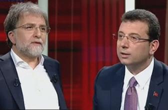 Ahmet Hakan ve Ekrem İmamoğlu tartıştı olay Pontus çekişmesi